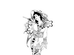 geisha with bird tattoo drawing real photo pictures images and