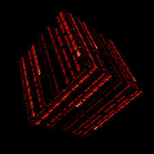 red matrix gif matrix cube red by woken 2010 on deviantart