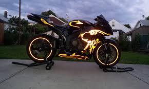honda 600rr 2007 2007 black and orange reflective graffiti cbr600rr u2013 ridecbr com