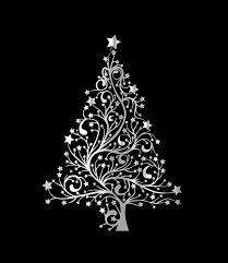 christmas tree modern card free stock photo public domain pictures