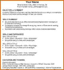 Resume Format For It Jobs by How To Write A Job Resume Examples