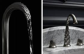unique kitchen faucets unique faucet design will you rethink how water flows