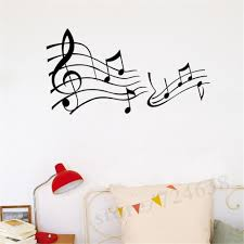 wall decals decorations living room bedroom wall sticker music
