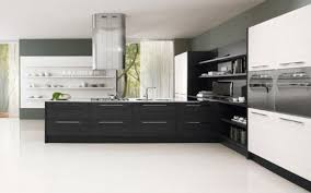 Smart Kitchen Cabinets Entrancing Modern Black Kitchen Style Come With Black Gloss