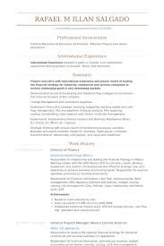 Financial Resume Example by Director Of Finance Resume Samples Visualcv Resume Samples Database