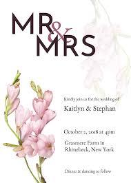 wedding invitations templates 19 diy bridal shower and wedding invitation templates venngage