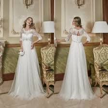 Wedding Dresses For Pregnant Women Empire Waist Crystals Wedding Dress Canada Best Selling Empire