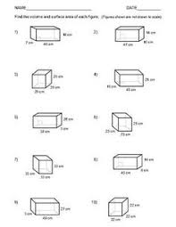 geometry nets worksheets find the nets sheet 1 select the