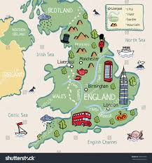 Maps Of England by Cartoon Map England Stock Illustration 528275950 Shutterstock
