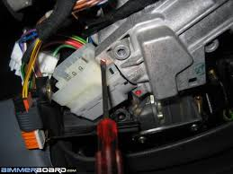 ignition switch removal and replacement long with photos
