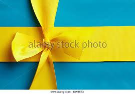 blue and yellow ribbon yellow ribbon and flag stock photos yellow ribbon and flag stock