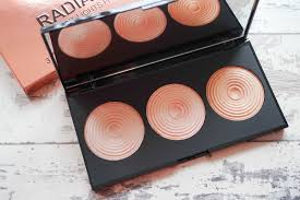 makeup revolution radiant lights beauty with charm makeup revolution radiant lights highlighter palette