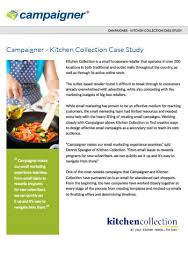 kitchen collection store locations email marketing studies caigner