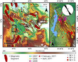seismicity of the central afar rift and implications for tendaho