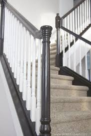 black spindles for stairs best 25 stair spindles ideas on