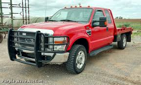 Ford F350 Landscape Truck - 2010 ford f350 super duty xlt supercab flatbed pickup truck