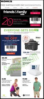 kohl s friends family 20 10 home purchase coupon