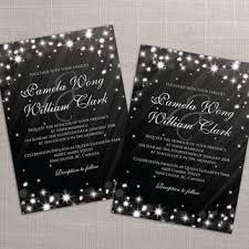 black wedding invitations shop sparkle invitations on wanelo