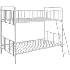 By Novogratz Berkshire Metal Twin Over Twin Metal Bunk Bed - Vintage bunk beds