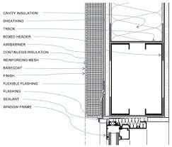 Window Sill Detail Cad Exterior System Details Eifs Awci Technology Center