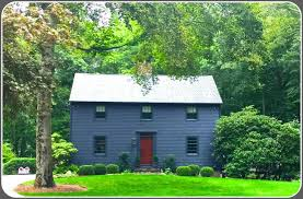 holiday house tour is truly historic 06880 this saltbox was built in 1966 it sure doesn t look that young