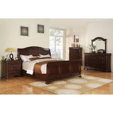 Camden Bedroom Furniture Cameron 4 Piece King Bedroom Set In Dark Cherry Nebraska
