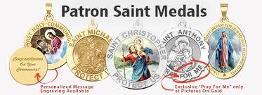 catholic medals patron medals religious medals catholic medals