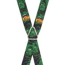 incredible hulk suspenders suspenderstore
