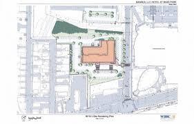 ocean properties unveils design for 124 room hotel next to cross