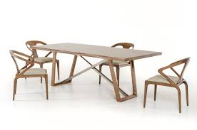 modern walnut dining table inspiration dining room table sets for