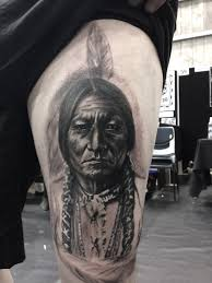native american indian chief by kristen sorrenson tattoos