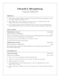 resume template word 2007 sle resume microsoft word template for resume word sle resume