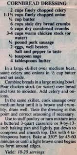 traditional cornbread dressing recipe cornbread dressing and