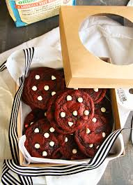 red velvet white chocolate chip cookies kleinworth u0026 co