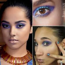 becky g inspired purple teal smokey eye makeup tutorial video for eye makeup tips in urdu video makeup