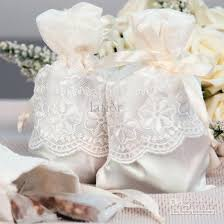 lace favor bags candy bags lace silk satin wedding candy bags jewelry bags