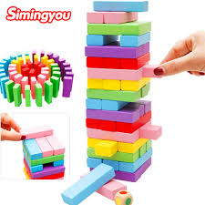 simingyou educational toys for children of high pumping wooden