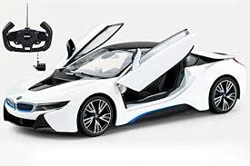 bmw model car amazon com radio model car 1 14 bmw i8 authentic