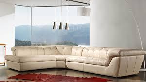Modern Italian Leather Sofas J U0026m 397 Beige Italian Leather Sectional Sofa Lhf