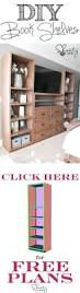 Wooden Projects Free Plans by Best 25 Bookshelf Plans Ideas On Pinterest Bookcase Plans