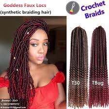 hair goddess 2017 synthetic bohemian style faux locs curly end hair goddess 20