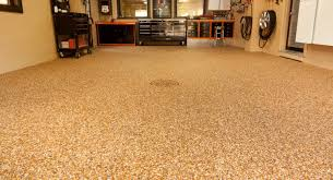 Flooring For Basements by Impressive Glossy Finished Concrete Flooring With Pattern For