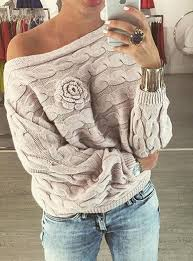 cable knit sweater womens cable knit sweater embellished cross the shoulder