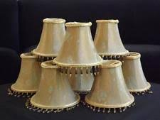 Chandelier Lamp Shades With Beads Beaded Chandelier Lamp Shades Ebay