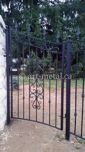 wrought iron fence ornaments and cast iron decorative pieces