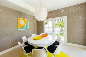mid century modern beverly hills residence vintage style neon lights