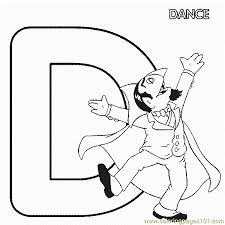 abc letter dance sesame street count coloring pages 7