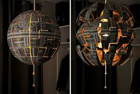 Ikea Pendant Lights How To Turn An Ikea Pendant Lamp Into An Exploding Death Star Lamp