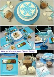 Winter Onederland Party Decorations Winter Wonderland Party Moms U0026 Munchkins