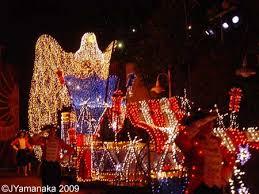 American Flag Christmas Lights Disney U0027s Electrical Parade Disney U0027s California Adventure